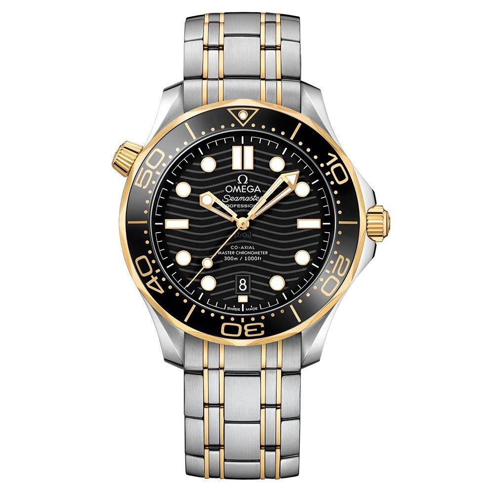 OMEGA Seamaster Diver 300 18ct Gold Master Chronometer Automatic Men's Watch