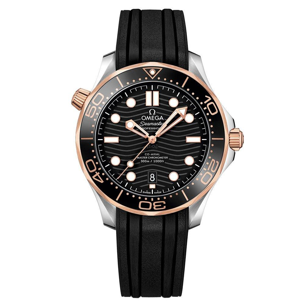 OMEGA Seamaster Diver 300 18ct Rose Gold Master Chronometer Automatic Men's Watch
