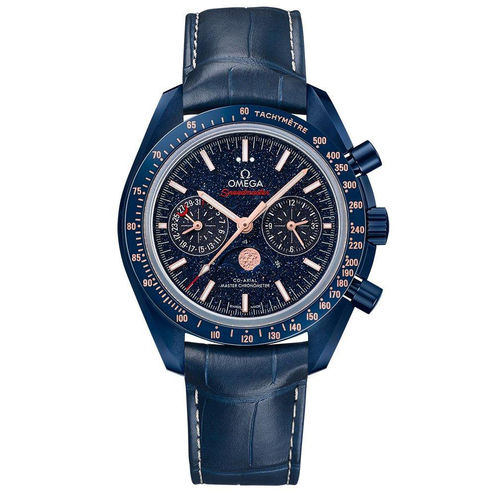 OMEGA Speedmaster Moonwatch Blue Side of the Moon Automatic Chronograph Men's Watch