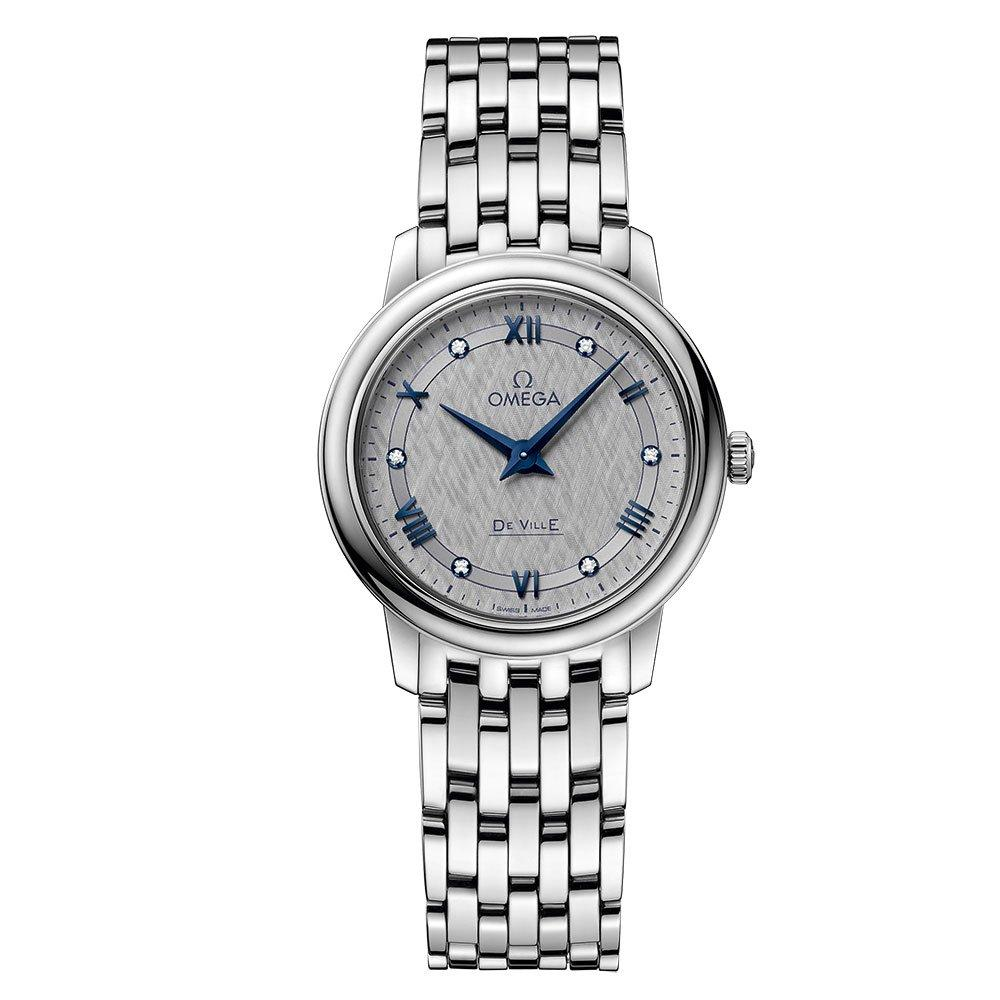 OMEGA De Ville Prestige Diamond Ladies Watch