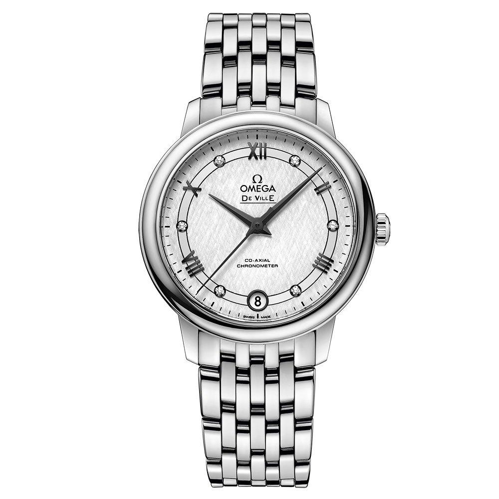 OMEGA De Ville Prestige Automatic Diamond Ladies Watch