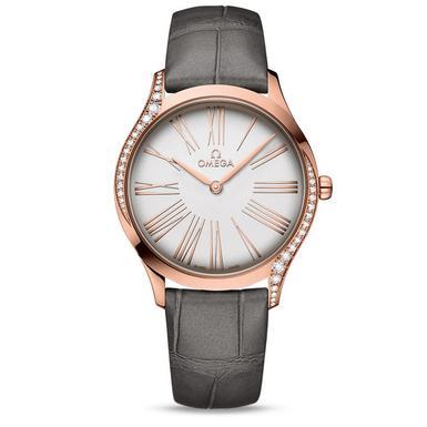 OMEGA De Ville Tresor 18ct Sedna Gold Diamond Ladies Watch