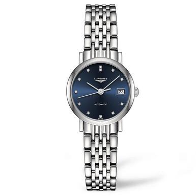 Longines Elegant Collection Diamond Automatic Ladies Watch
