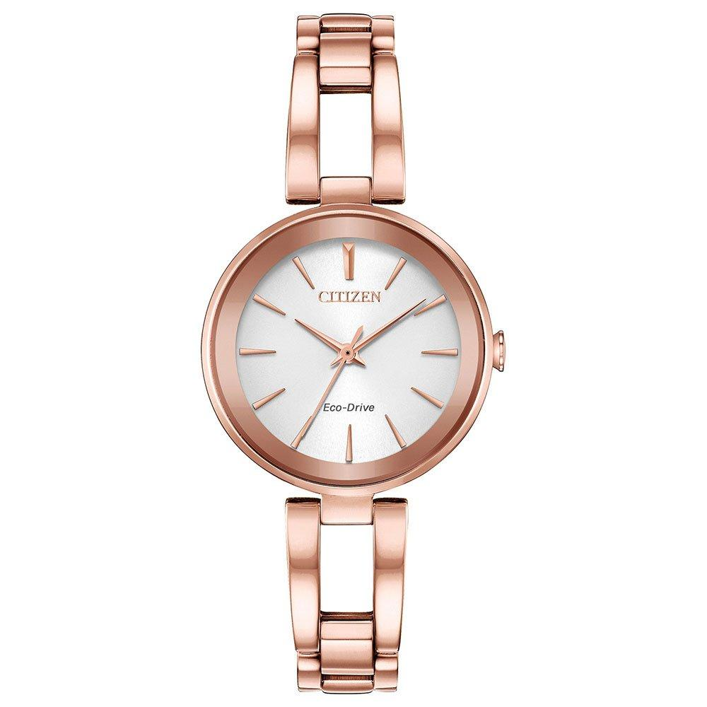 Citizen Axiom Eco-Drive Rose Gold Tone Ladies Watch