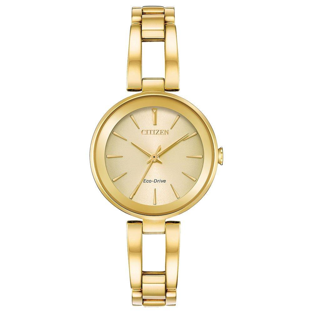 Citizen Axiom Eco-Drive Gold Tone Ladies Watch