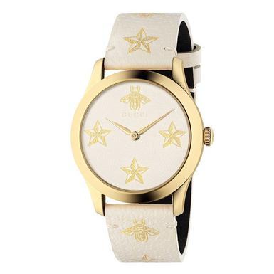 Gucci G-Timeless Star Gold PVD Watch