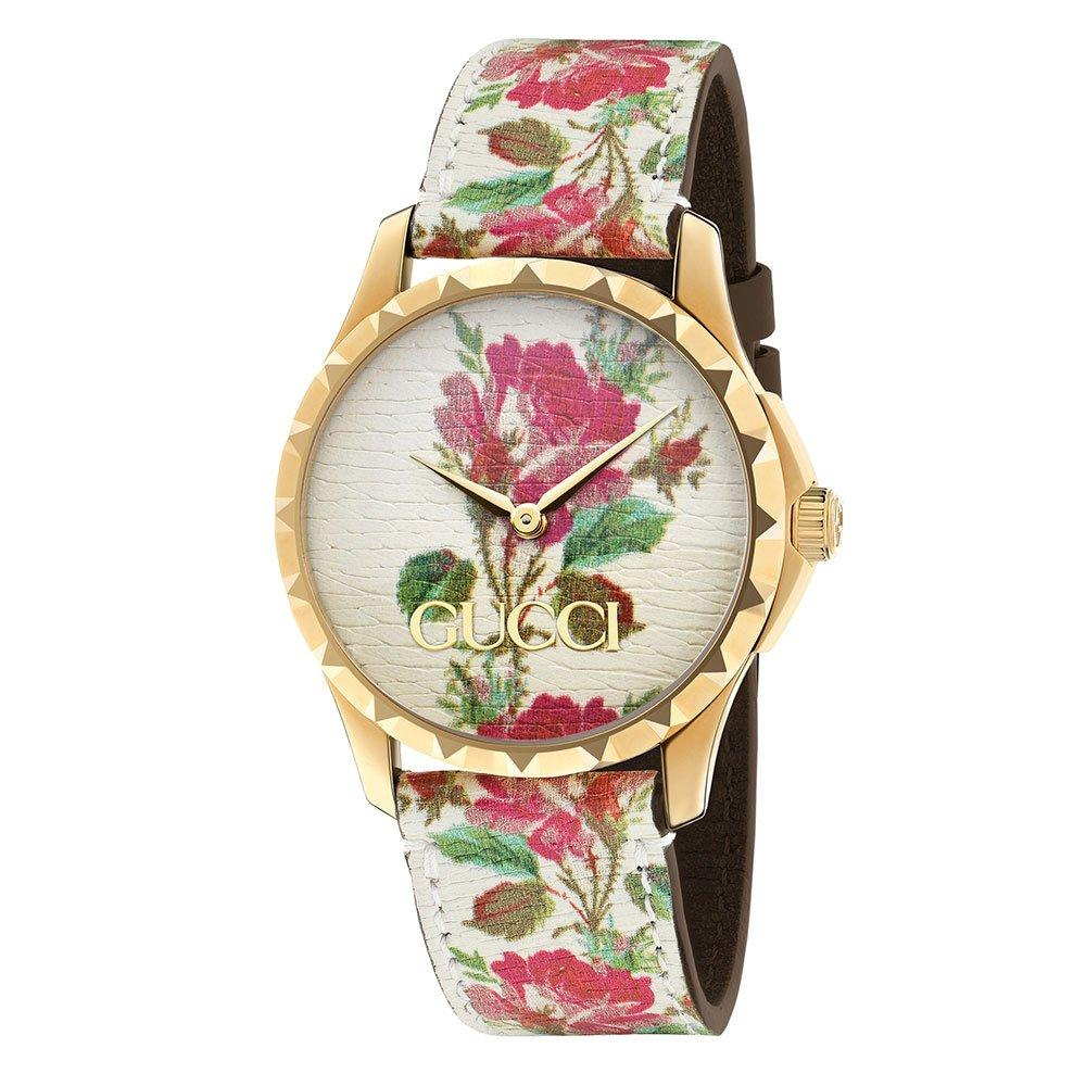 Gucci G Timeless Gold Tone Ladies Watch