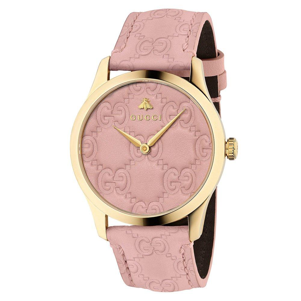 Gucci G Timeless Pink Ladies Watch