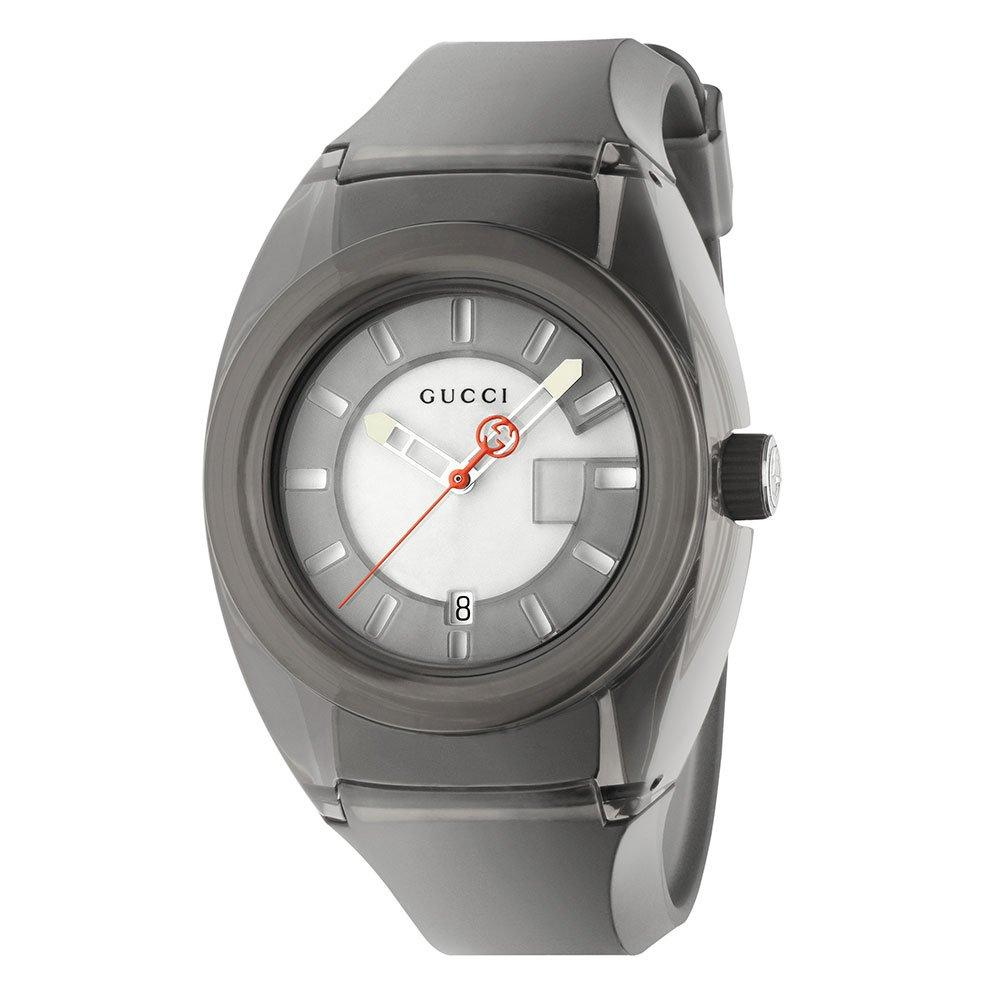 Gucci Sync Black Rubber Watch