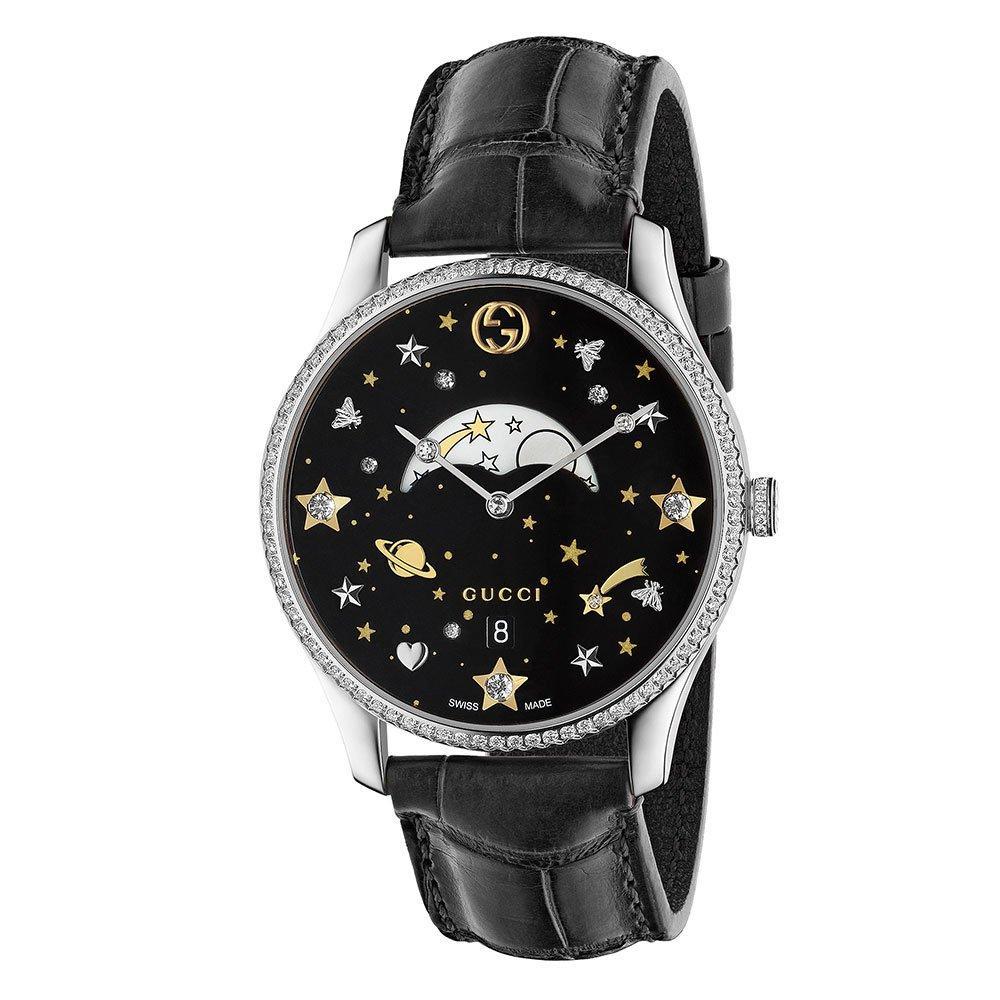 Gucci Moon phase Diamond Ladies Watch