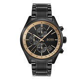 BOSS Grand Prix GQ Black Chronograph Men's Watch