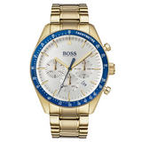 BOSS Trophy Gold Plated Chronograph Men's Watch