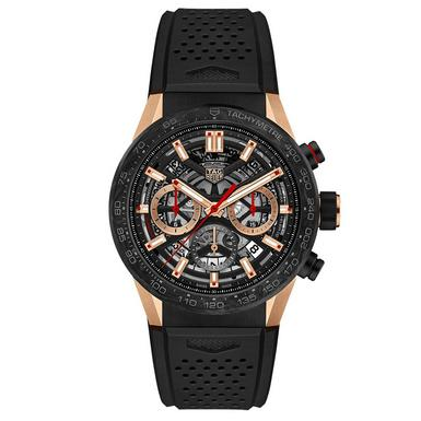TAG Heuer Carrera Calibre Heuer 02 18ct Rose Gold Automatic Men's Watch
