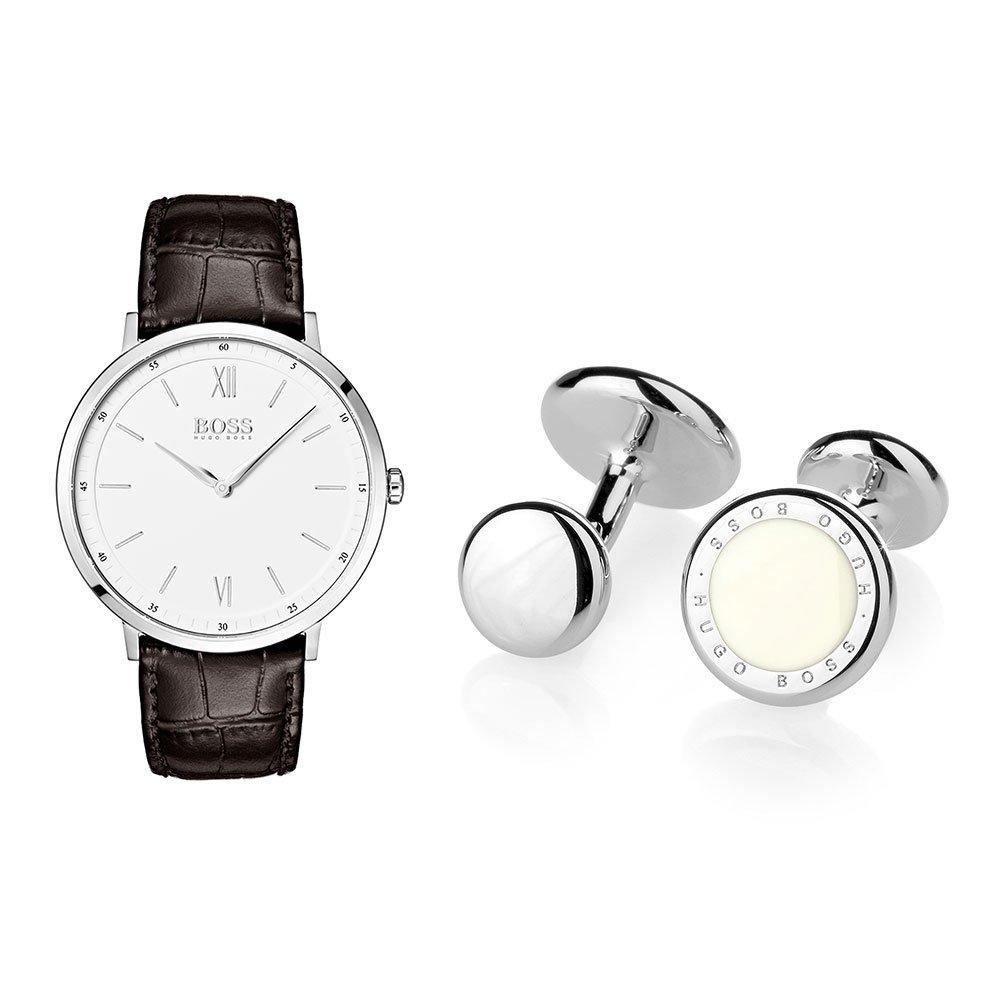 Hugo Boss Watch and Cufflinks Set
