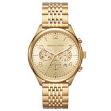 Michael Kors Merrick Gold Tone Chronograph Men's Watch