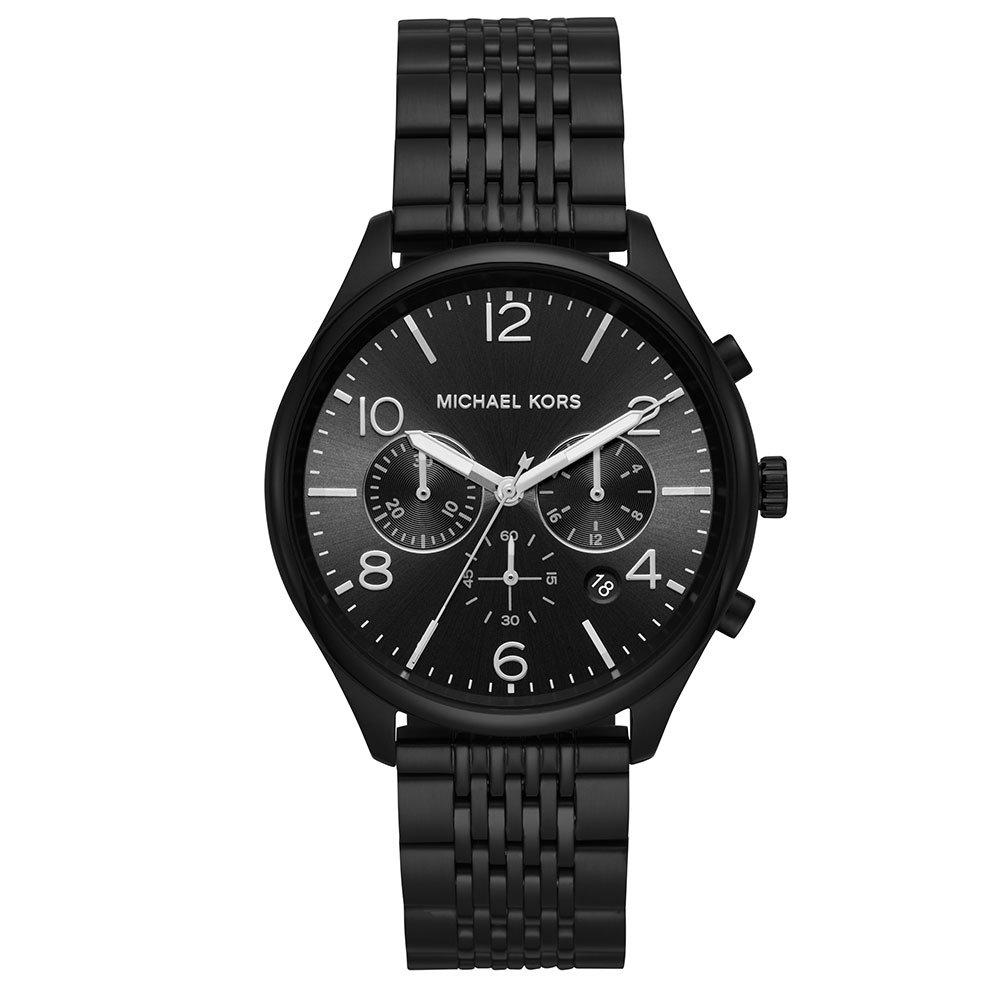 Michael Kors Merrick Black Tone Chronograph Men's Watch