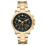 Michael Kors Cortlandt Gold Tone Chronograph Men's Watch