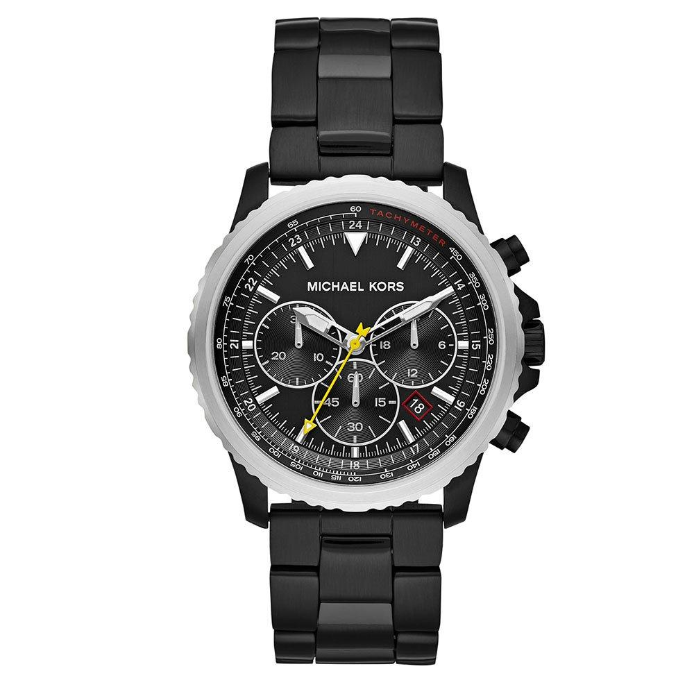 Michael Kors Theroux Black Chronograph Men's Watch