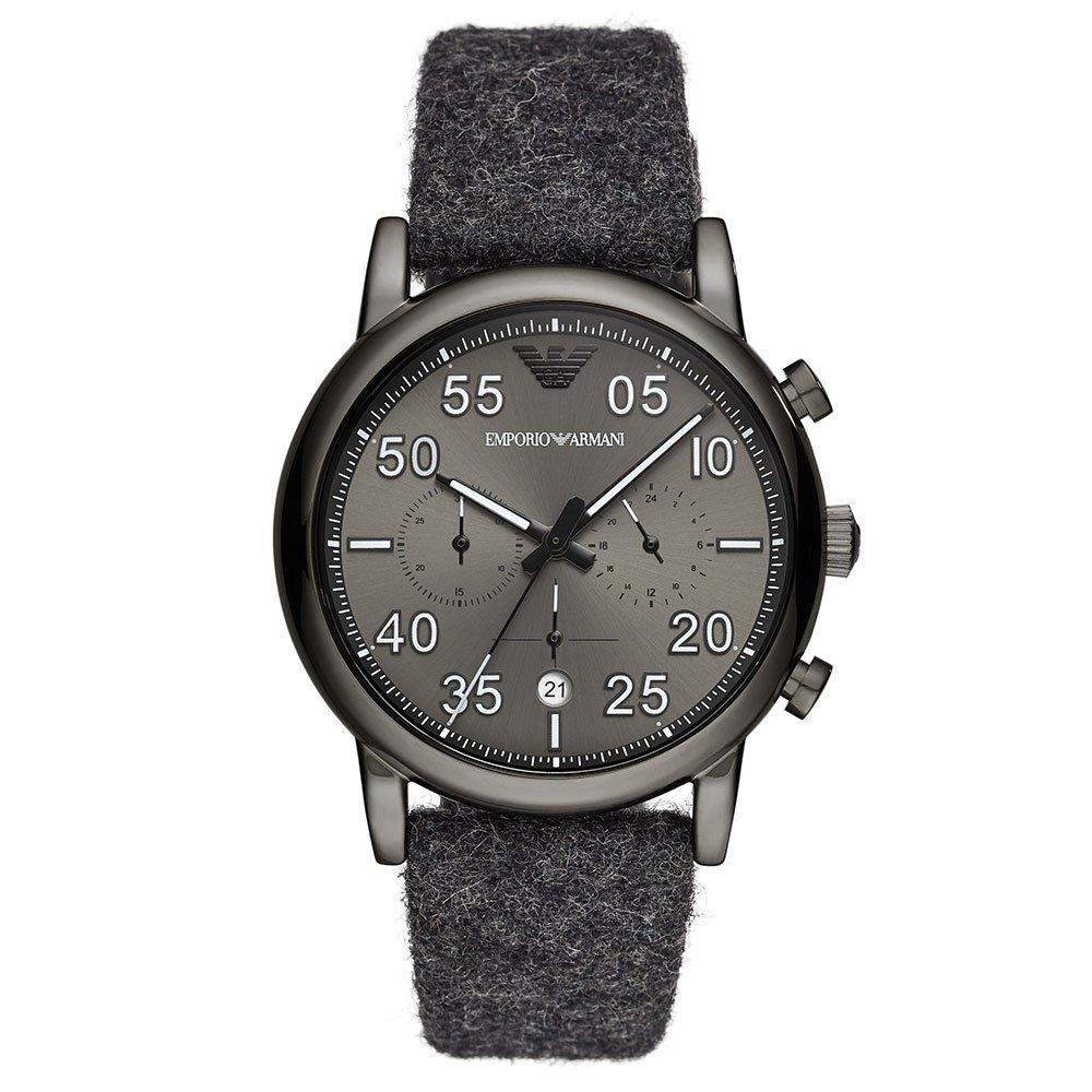 Emporio Armani Fabric Chronograph Men's Watch