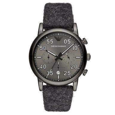 Emporio Armani Fabric Chronograph Men's Watch