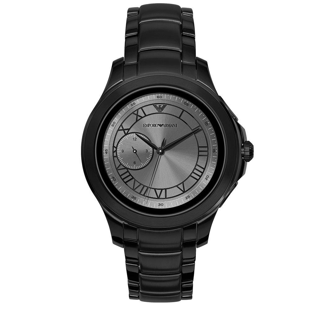 Emporio Armani Connected Black Ion Plated Smartwatch