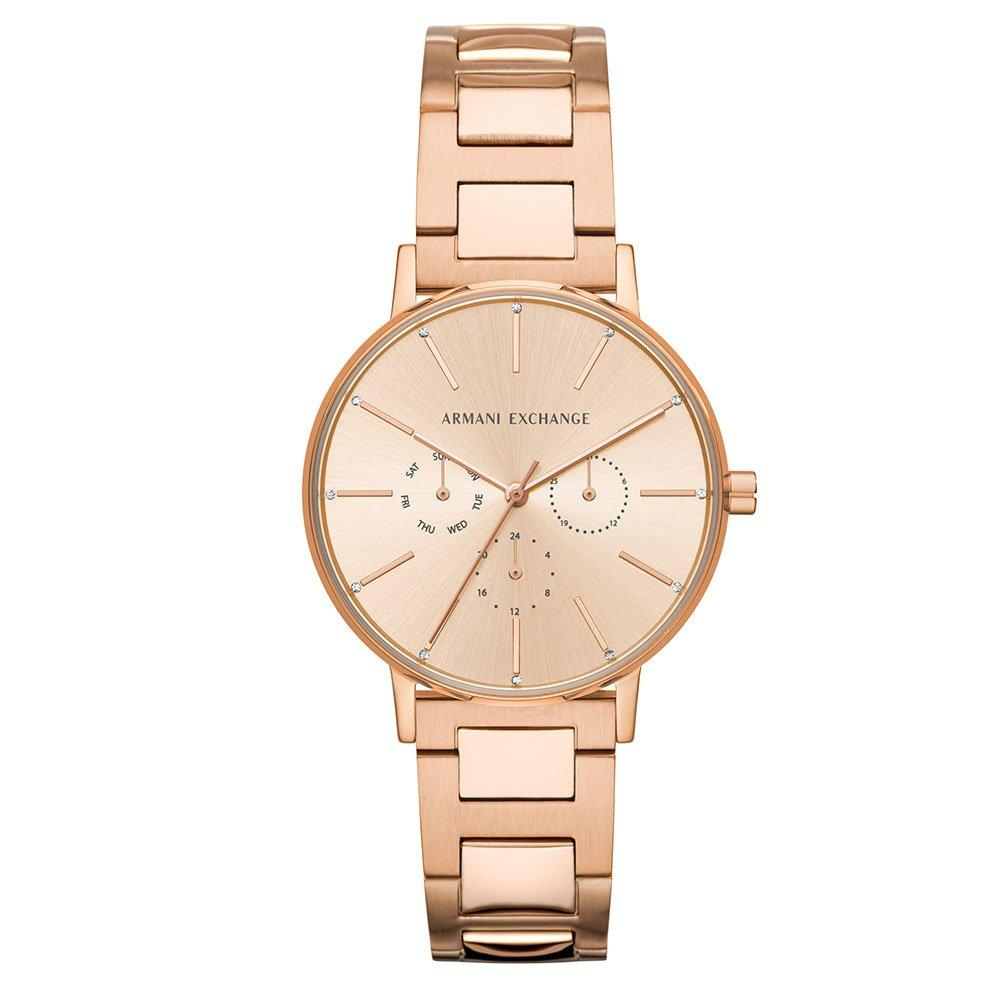 Armani Exchange Rose Gold Tone Ladies Watch