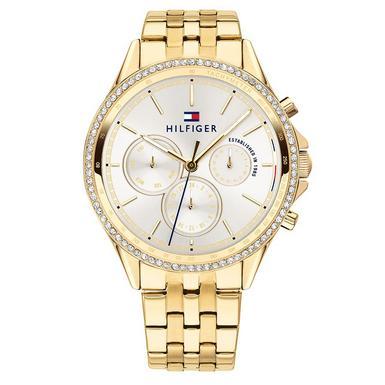 Tommy Hilfiger Gold Tone Ladies Watch
