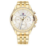 Tommy Hilfiger Gold Tone Ladies Watch