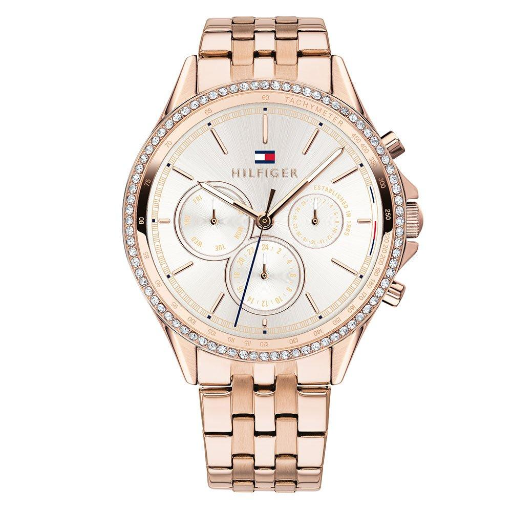 Tommy Hilfiger Rose Gold Tone Ladies Watch