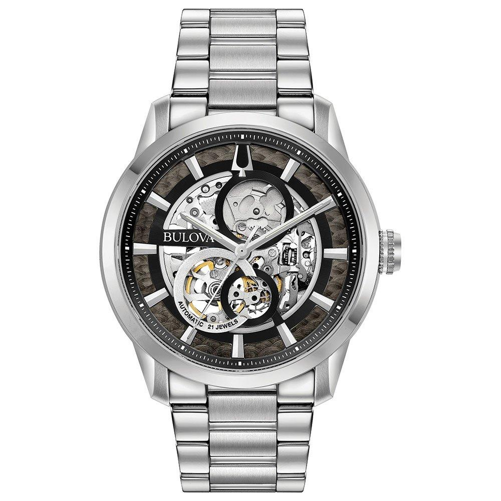 Bulova Sutton Skeleton Automatic Men's Watch