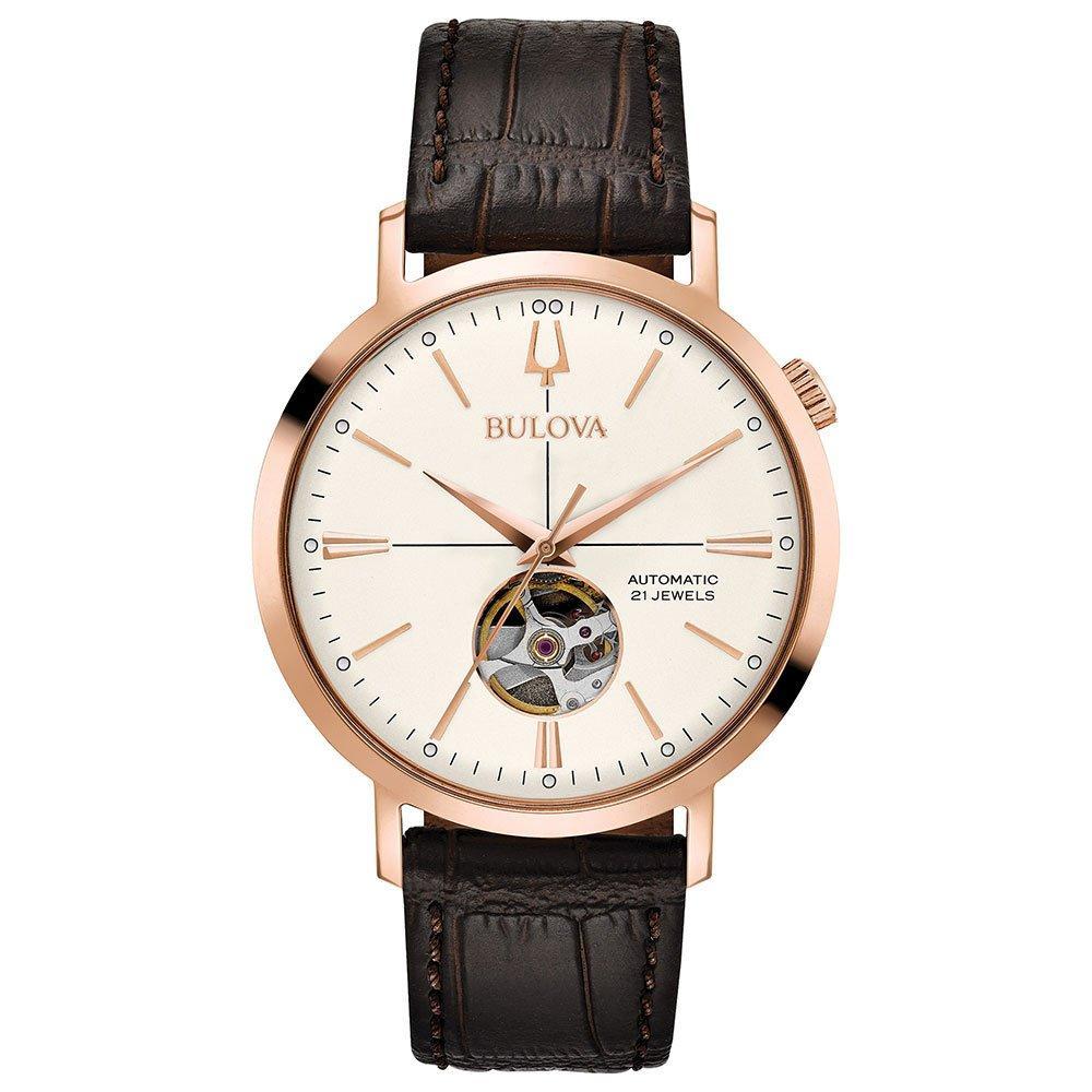 Bulova Classic Rose Gold Tone Automatic Men's Watch