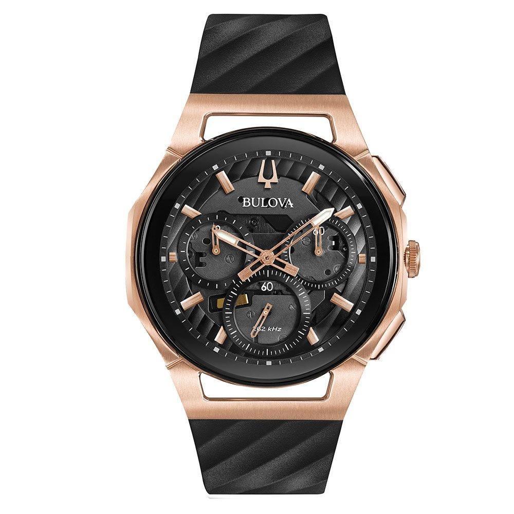 Bulova Curv Two Colour Chronograph Men's Watch