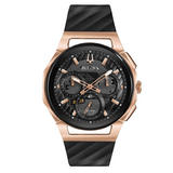 Bulova Curv Two Colour Chronograph Men's Watch