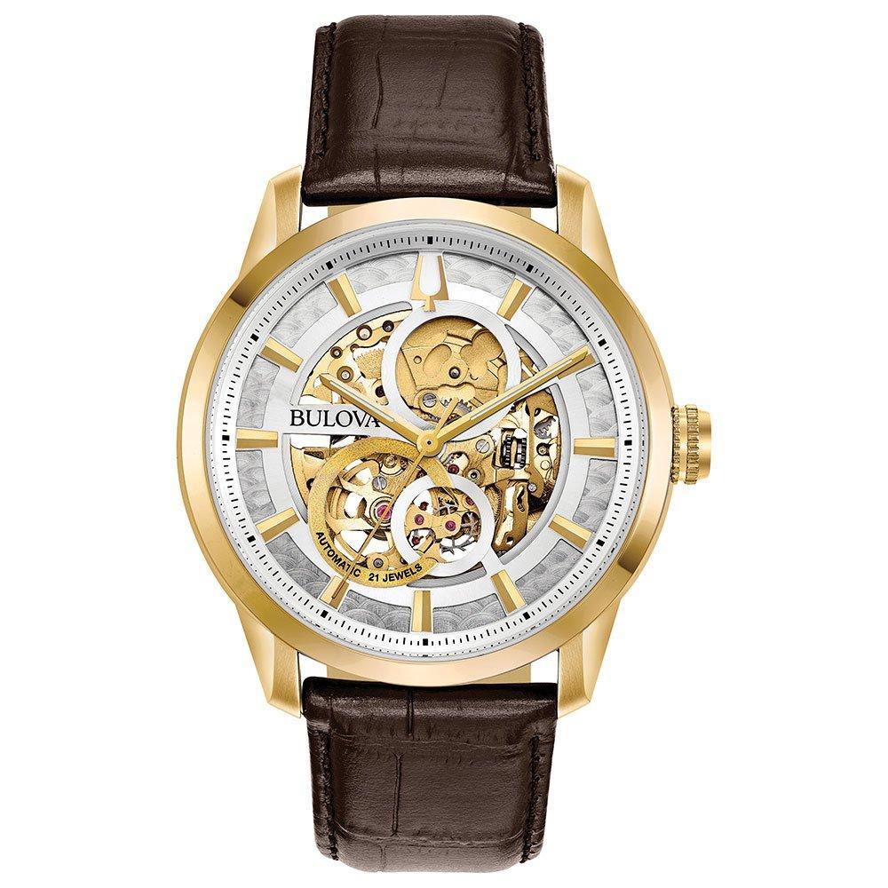 Bulova Sutton Gold Tone Men's Watch