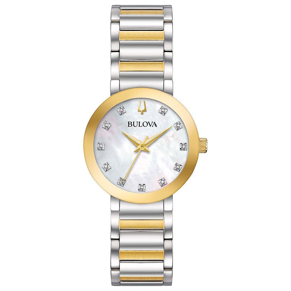 Bulova Modern Two Colour Diamond Ladies Watch