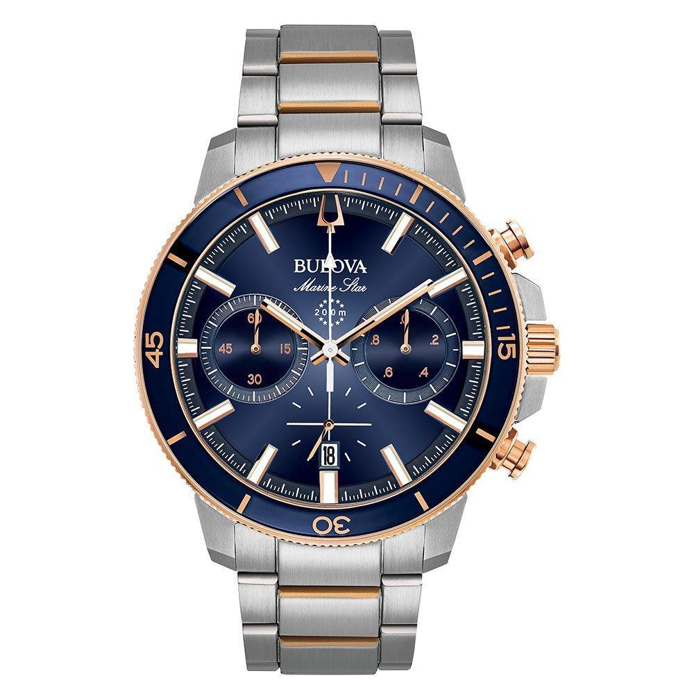 Bulova Marine Star Two Colour Chronograph Men's Watch