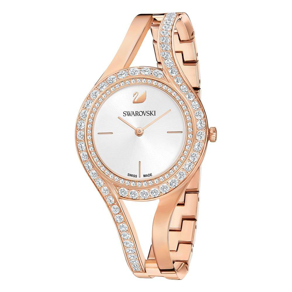 Swarovski Eternal Rose Gold Tone Crystal Ladies Watch
