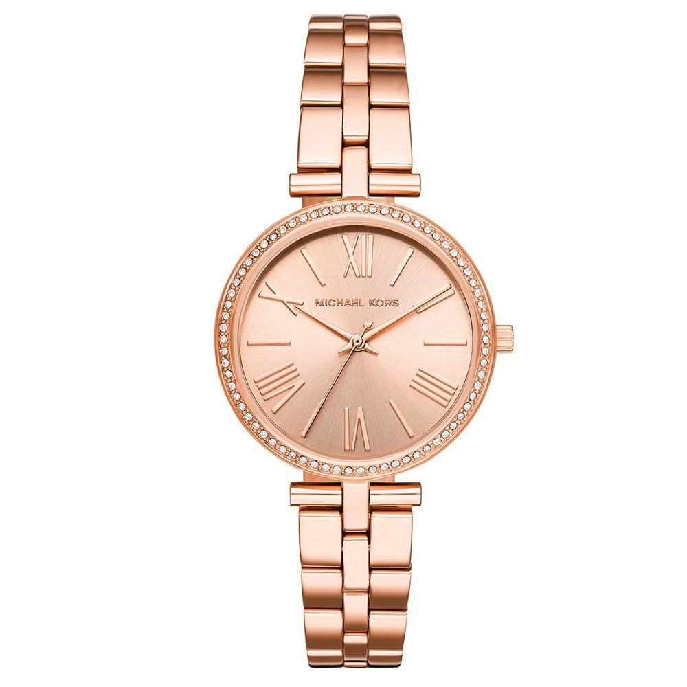 Michael Kors Maci Rose Gold Tone Crystal Ladies Watch