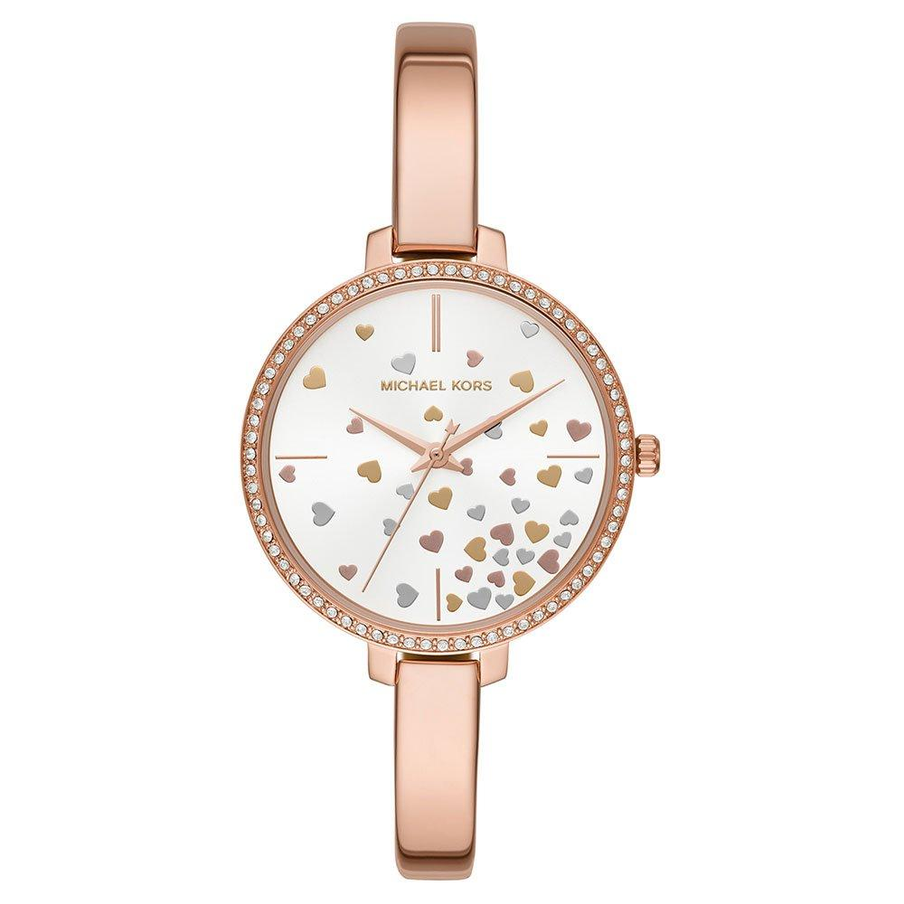 Michael Kors Jaryn Valentines Rose Gold Tone Crystal Ladies Watch