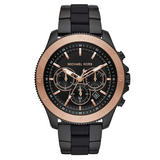 Michael Kors Theroux Sport Black Ion Plated Men's Watch