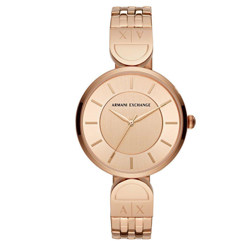 Armani Exchange Rose Gold Tone Ladies Watch