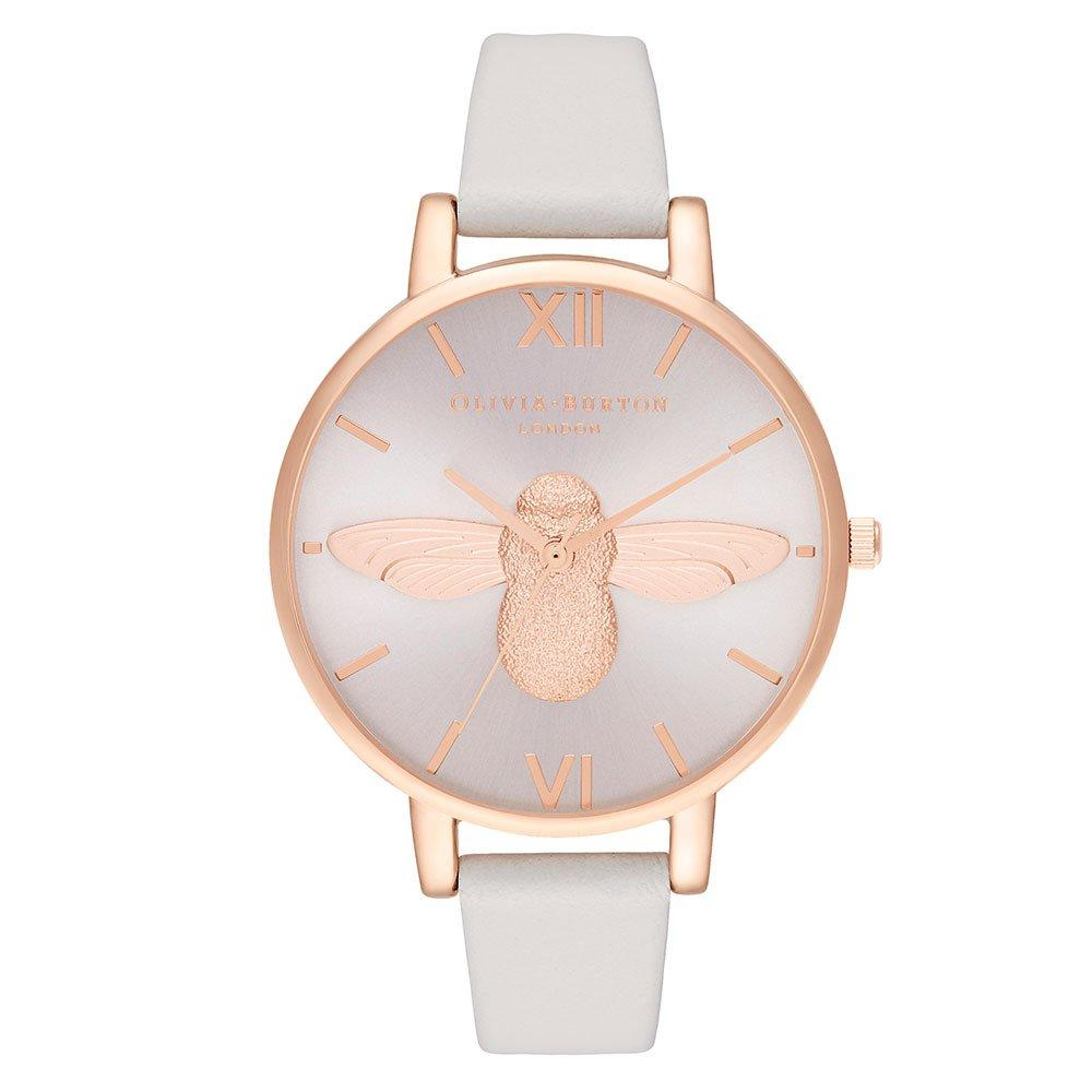 Olivia Burton 3D Bee Rose Gold Ion Plated And Blush Ladies Watch