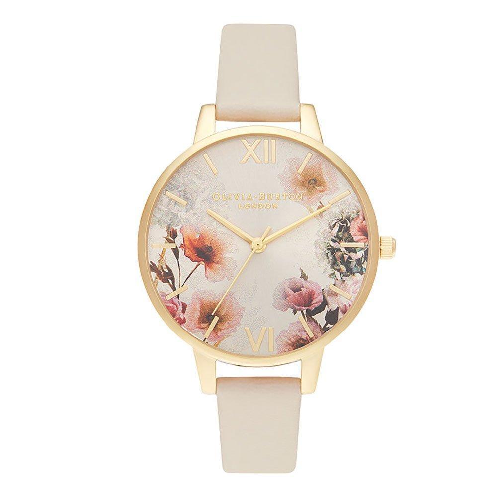 Olivia Burton Sunlight Florals Gold Tone Ladies Watch