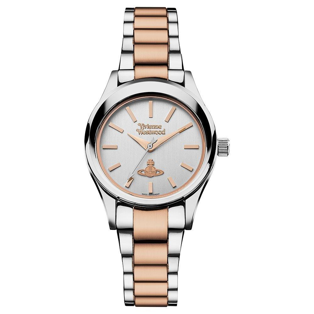 Vivienne Westwood Holloway Rose Gold Tone and Steel Ladies Watch