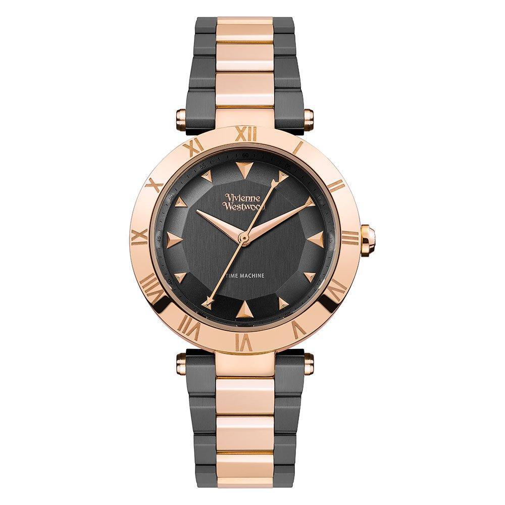 Vivienne Westwood Montagu Black and Rose Gold Tone Ladies Watch