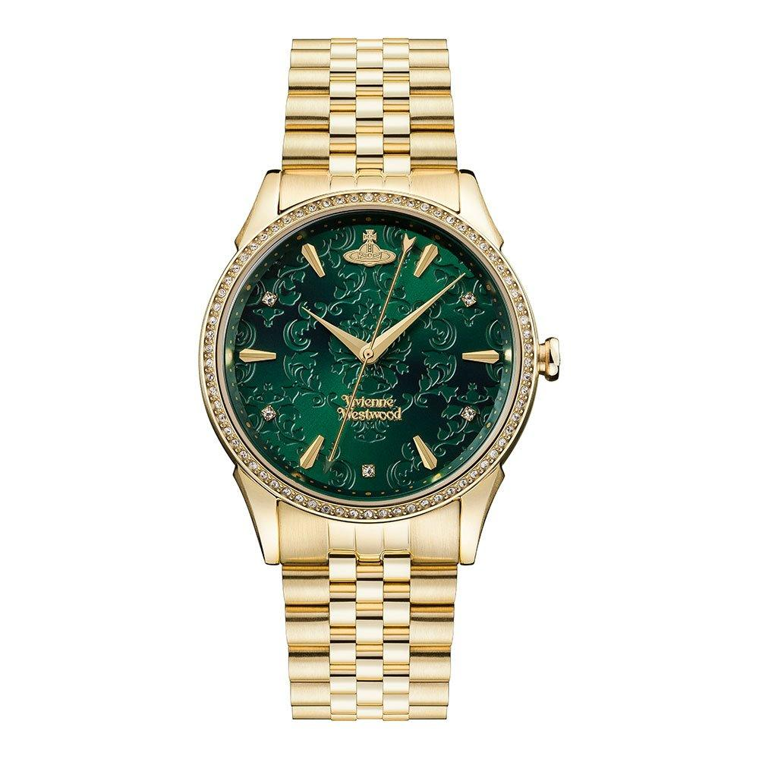 Vivienne Westwood Wallace Gold Tone Ladies Watch