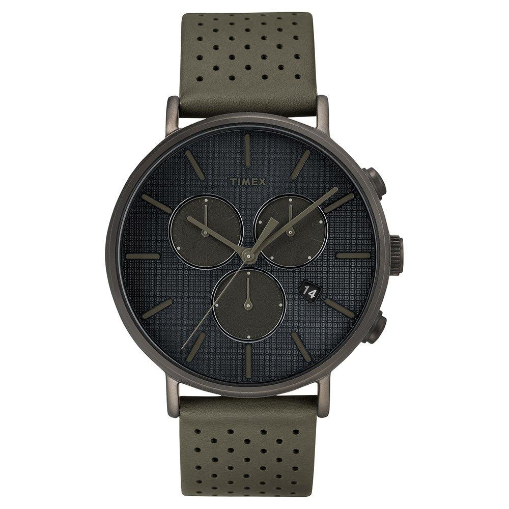 Timex Fairfield Supernova Black Chronograph Men's Watch