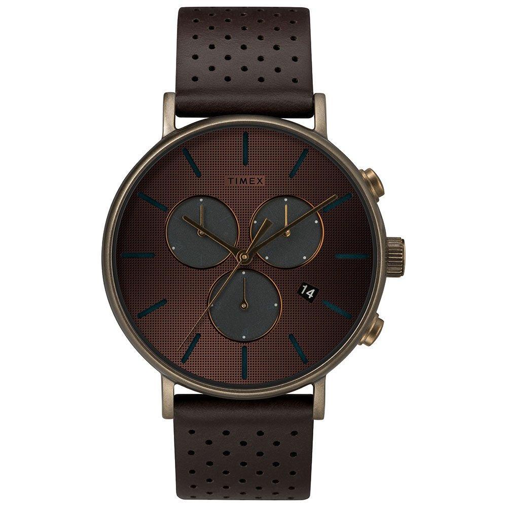 Timex Fairfield Supernova Bronze-Tone Chronograph Men's Watch