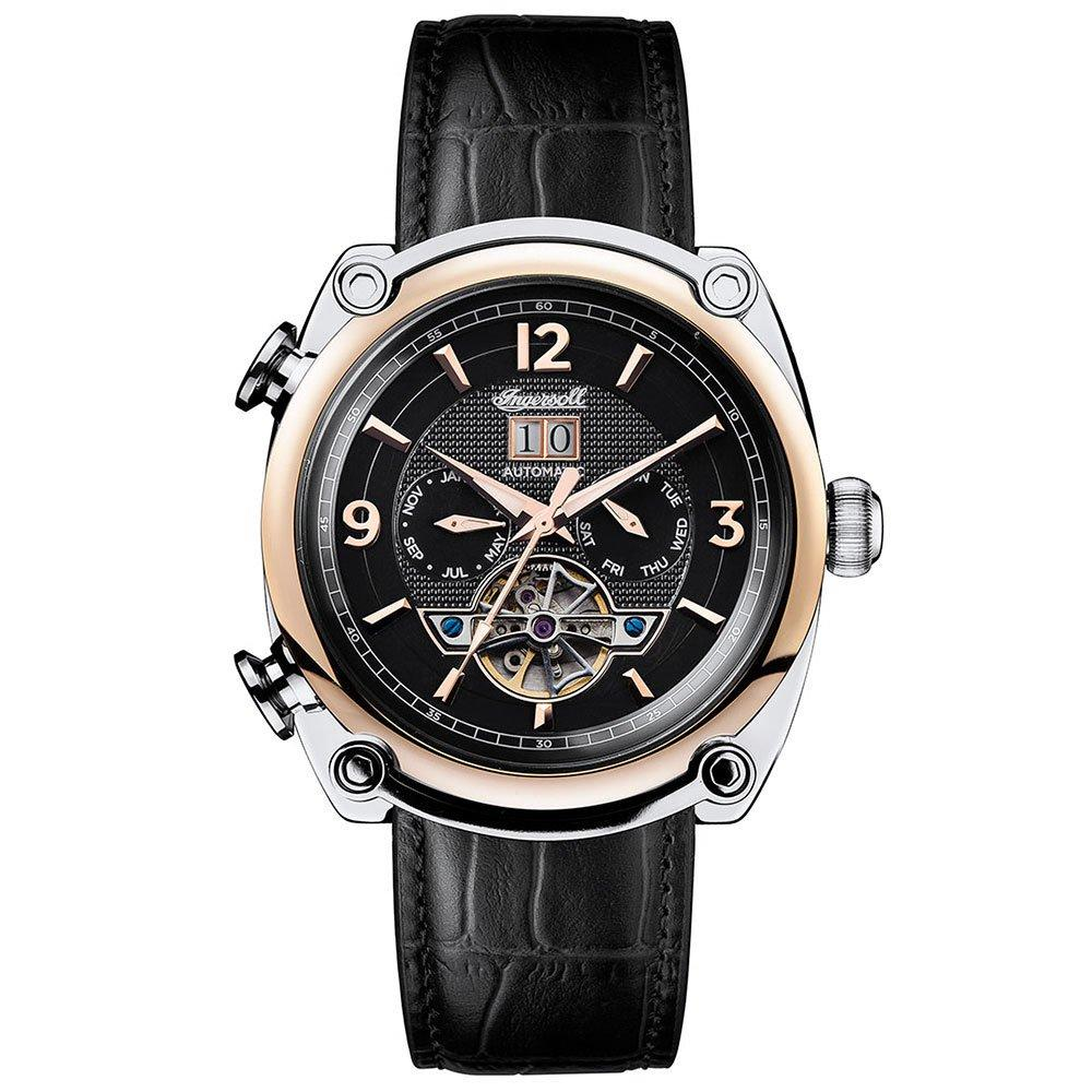 Ingersoll Michigan Stainless Steel and Rose Gold Plated Automatic Men's Watch