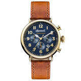 Ingersoll Trenton Gold Plated Men's Chronograph Watch
